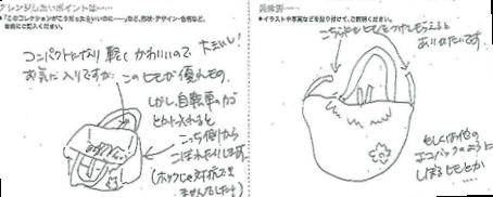 「企画アドバイザー」にお寄せいただいた東京都 のこねこさまのご意見です。